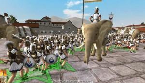 Римский генерал пал. Победа!